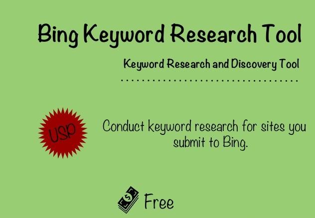 Nghiên cứu từ khoá Bing