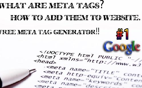 Meta Tags - Làm thế nào Google Meta Tags Tác động SEO