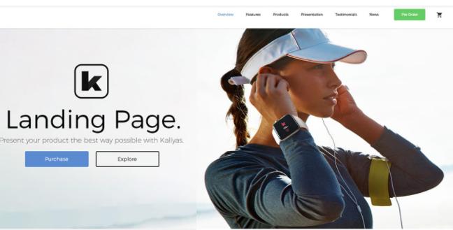 Thiết kế web chuẩn Landing Page